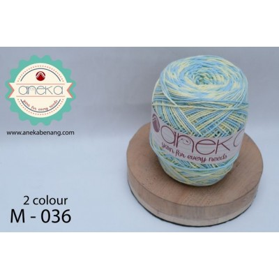 Benang Rajut Katun Mambo / Sembur / Mix-color Cotton Yarn - 036