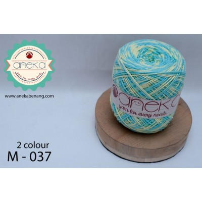 Benang Rajut Katun Mambo / Sembur / Mix-color Cotton Yarn - 037