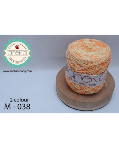 Benang Rajut Katun Mambo / Sembur / Mix-color Cotton Yarn - 038
