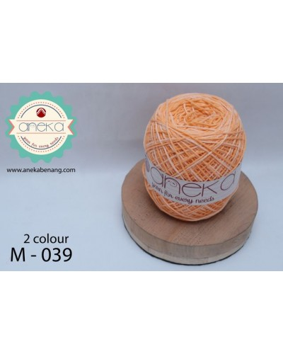 Benang Rajut Katun Mambo / Sembur / Mix-color Cotton Yarn - 039
