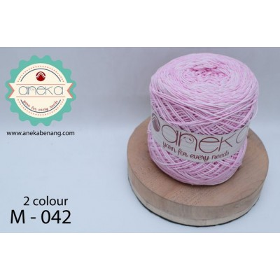 Benang Rajut Katun Mambo / Sembur / Mix-color Cotton Yarn - 042
