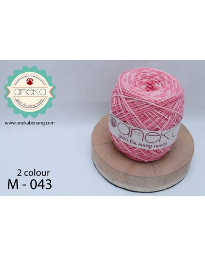 Benang Rajut Katun Mambo / Sembur / Mix-color Cotton Yarn - 043