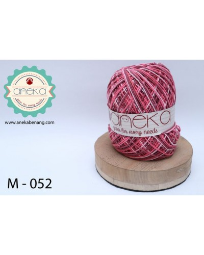 Benang Rajut Katun Mambo / Sembur / Mix-color Cotton Yarn - 052