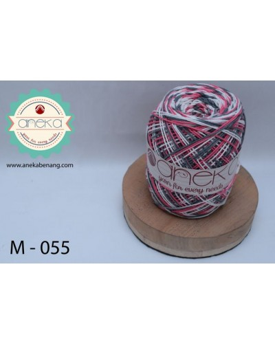 Benang Rajut Katun Mambo / Sembur / Mix-color Cotton Yarn - 055