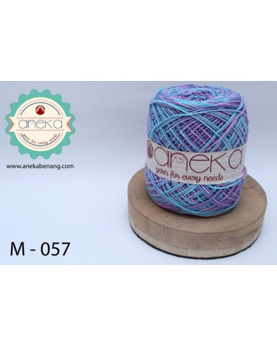 Benang Rajut Katun Mambo / Sembur / Mix-color Cotton Yarn - 057