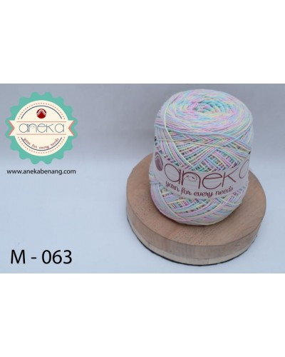Benang Rajut Katun Mambo / Sembur / Mix-color Cotton Yarn - 063