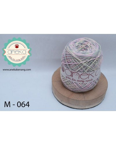 Benang Rajut Katun Mambo / Sembur / Mix-color Cotton Yarn - 064