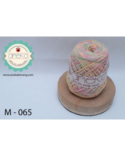 Benang Rajut Katun Mambo / Sembur / Mix-color Cotton Yarn - 065