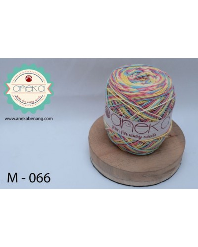 Benang Rajut Katun Mambo / Sembur / Mix-color Cotton Yarn - 066