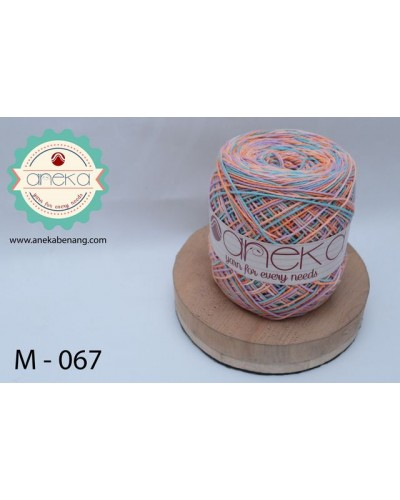 Benang Rajut Katun Mambo / Sembur / Mix-color Cotton Yarn - 067