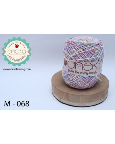 Benang Rajut Katun Mambo / Sembur / Mix-color Cotton Yarn - 068