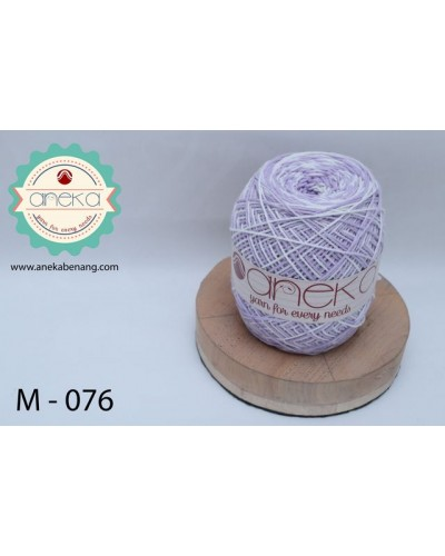 Benang Rajut Katun Mambo / Sembur / Mix-color Cotton Yarn - 076
