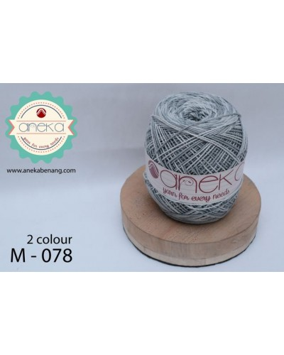 Benang Rajut Katun Mambo / Sembur / Mix-color Cotton Yarn - 078