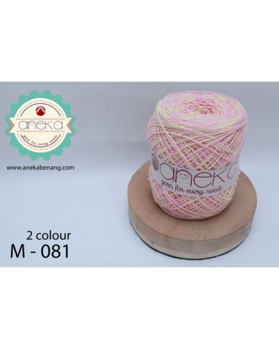 Benang Rajut Katun Mambo / Sembur / Mix-color Cotton Yarn - 081