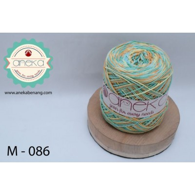 Benang Rajut Katun Mambo / Sembur / Mix-color Cotton Yarn - 086
