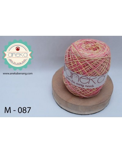 Benang Rajut Katun Mambo / Sembur / Mix-color Cotton Yarn - 087