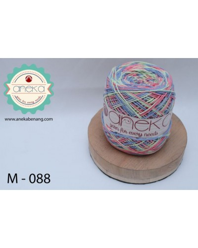 Benang Rajut Katun Mambo / Sembur / Mix-color Cotton Yarn - 088