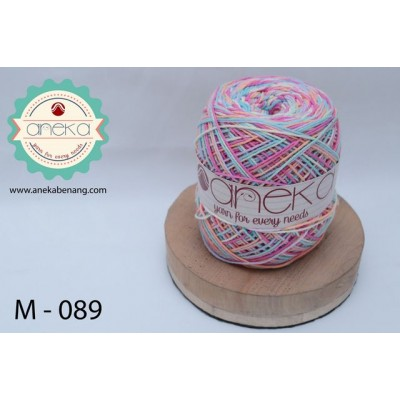 Benang Rajut Katun Mambo / Sembur / Mix-color Cotton Yarn - 089
