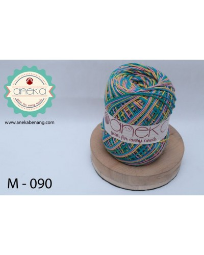 Benang Rajut Katun Mambo / Sembur / Mix-color Cotton Yarn - 090