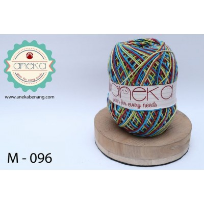 Benang Rajut Katun Mambo / Sembur / Mix-color Cotton Yarn - 096