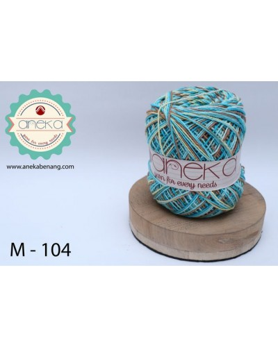 Benang Rajut Katun Mambo / Sembur / Mix-color Cotton Yarn - 104