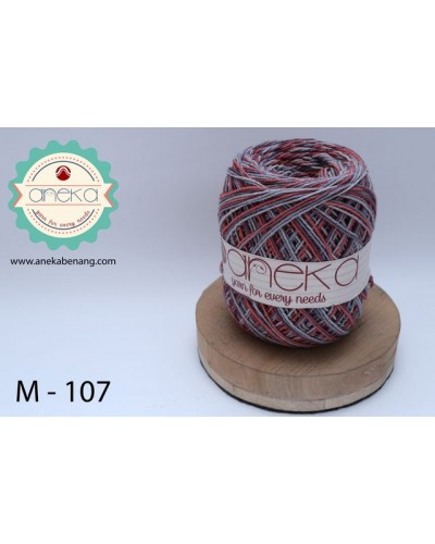 Benang Rajut Katun Mambo / Sembur / Mix-color Cotton Yarn - 107