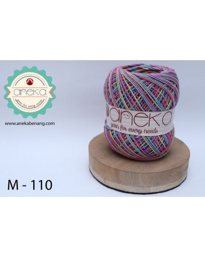 Benang Rajut Katun Mambo / Sembur / Mix-color Cotton Yarn - 110