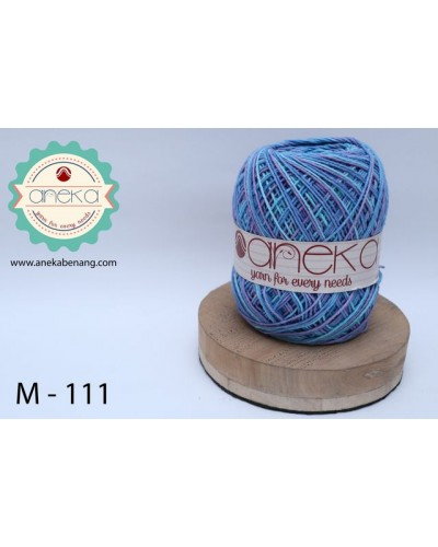 Benang Rajut Katun Mambo / Sembur / Mix-color Cotton Yarn - 111