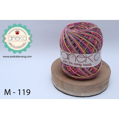 Benang Rajut Katun Mambo / Sembur / Mix-color Cotton Yarn - 119