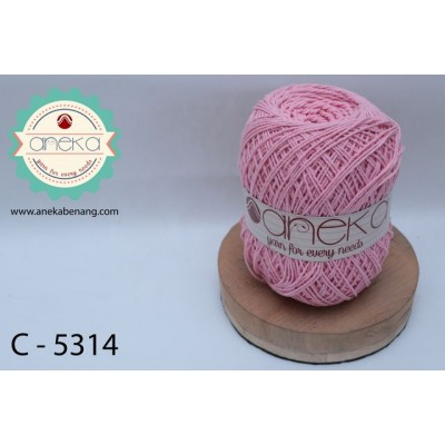 Benang Rajut Katun Polos /Cotton Yarn - 5314 (Dusty Pink)