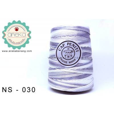 Benang Rajut Nylon Sembur Cap Peniti / Mix-color Nylon Yarn - 030