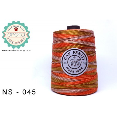 Benang Rajut Nylon Sembur Cap Peniti / Mix-color Nylon Yarn - 045