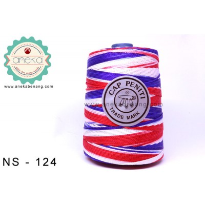 Benang Rajut Nylon Sembur Cap Peniti / Mix-color Nylon Yarn - 124