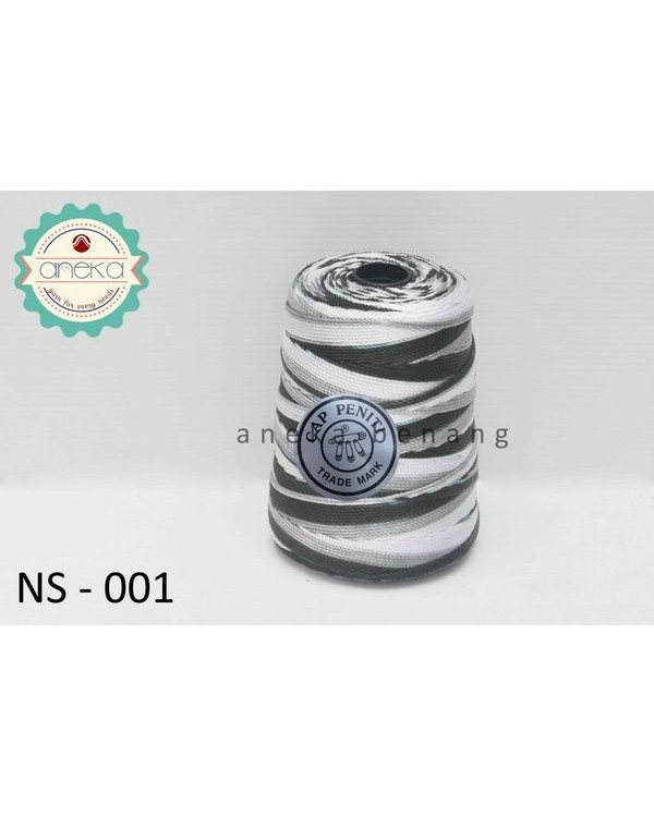 Benang Rajut Nylon Sembur Cap Peniti / Mix-color Nylon Yarn - 001