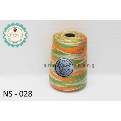 Benang Rajut Nylon Sembur Cap Peniti / Mix-color Nylon Yarn - 028