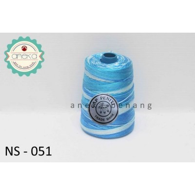 Benang Rajut Nylon Sembur Cap Peniti / Mix-color Nylon Yarn - 051