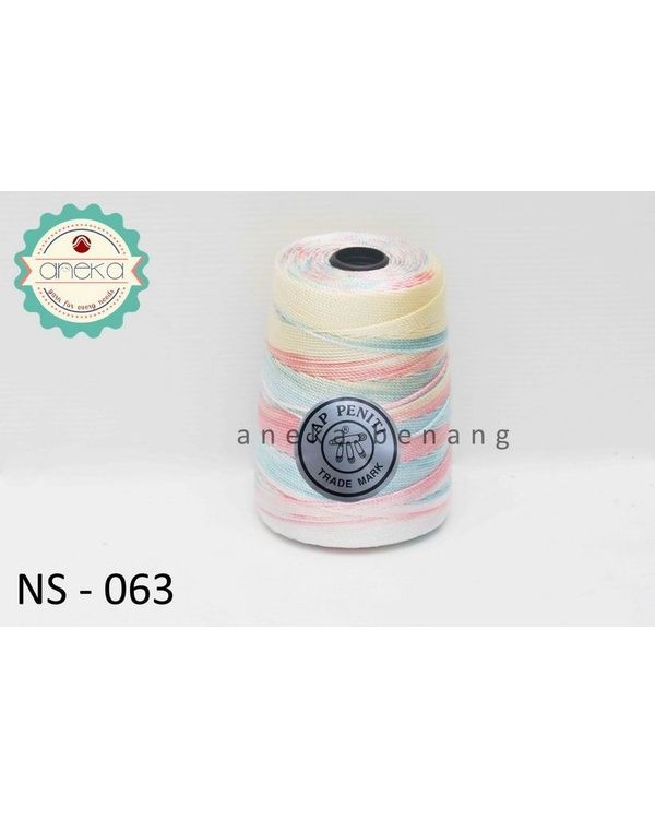 Benang Rajut Nylon Sembur Cap Peniti / Mix-color Nylon Yarn - 063