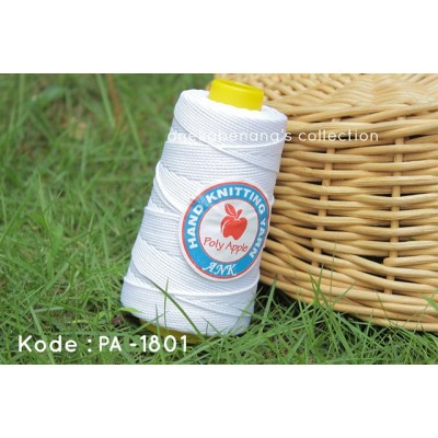 Benang Poly Apel / Apple Yarn - 1801 ( White )