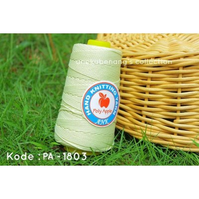 Benang Rajut Poly Apel / Apple Yarn - 1803 (Kuning Baby)