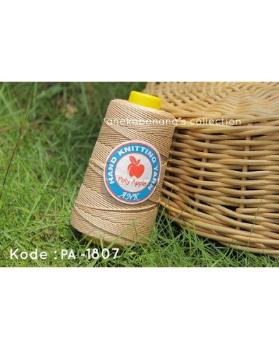 Benang Poly Apel / Apple Yarn - 1807 (Krem)