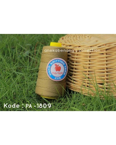 Benang Rajut Poly Apel / Apple Yarn - 1809 (Cokelat Muda)