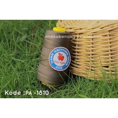 Benang Rajut Poly Apel / Apple Yarn - 1810 (Cokelat Kayu)