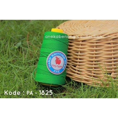 Benang Rajut Poly Apel / Apple Yarn - 1825 (Hijau Spring)