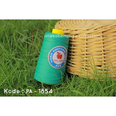 Benang Rajut Poly Apel / Apple Yarn - 1854 (Hijau Spring Medium)