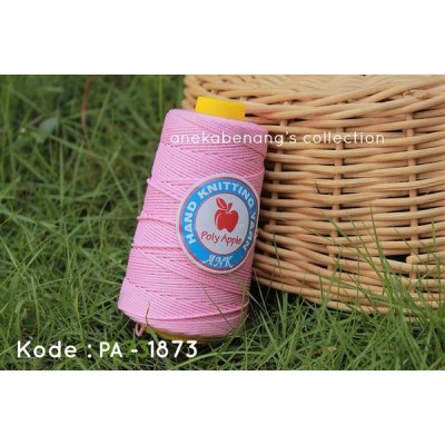 Benang Rajut Poly Apel / Apple Yarn - 1873 (Pink Baby)