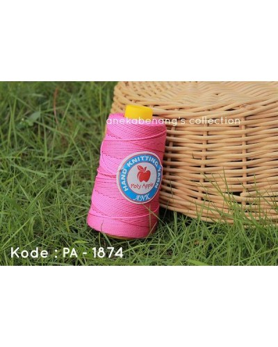 Benang Poly Apel / Apple Yarn - 1874 (Pink Terang)