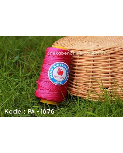 Benang Poly Apel / Apple Yarn - 1876 (Pink Fuchsia)
