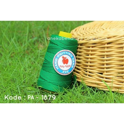 Benang Rajut Poly Apel / Apple Yarn - 1879 (Hijau)