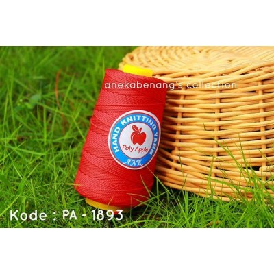 Benang Rajut Poly Apel / Apple Yarn - 1893 (Merah)