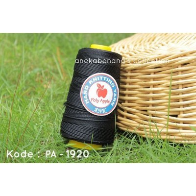 Benang Poly Apel / Apple Yarn - 1920 ( Hitam )